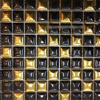 Gạch ốp trang trí phòng karaoke Mosaic BALU 3220