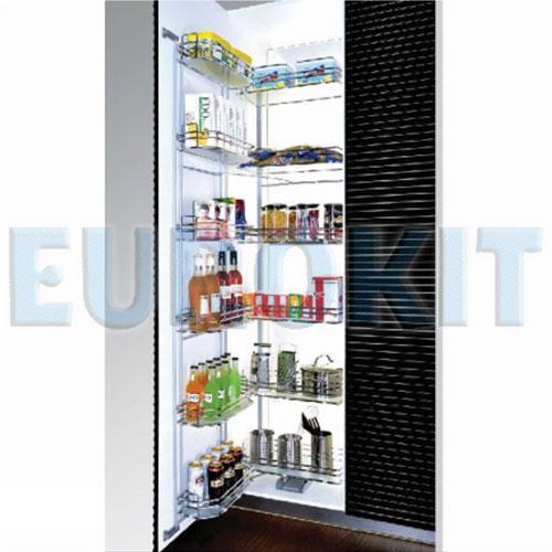 Tủ kho 6 tầng cánh mở inox 304 Eurokit CK 600