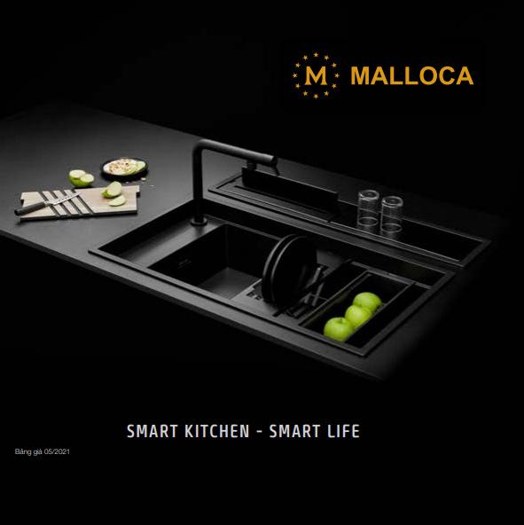 Catalog thiết bị nhà bếp MALLOCA