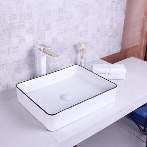 Chậu rửa lavabo nghệ thuật HCG 267