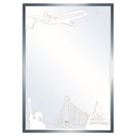 Gương phòng tắm trang trí Đình Quốc DQ 4243