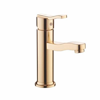 Vòi chậu lavabo mạ vàng Duraqua DQKG121