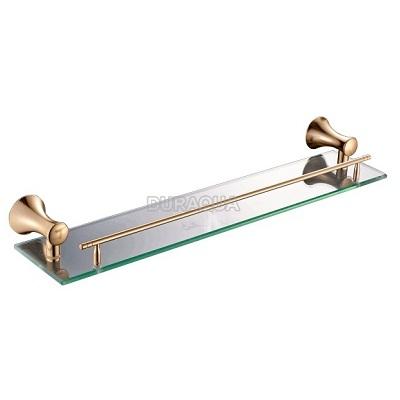 Kệ kính mạ vàng  Duraqua 6609