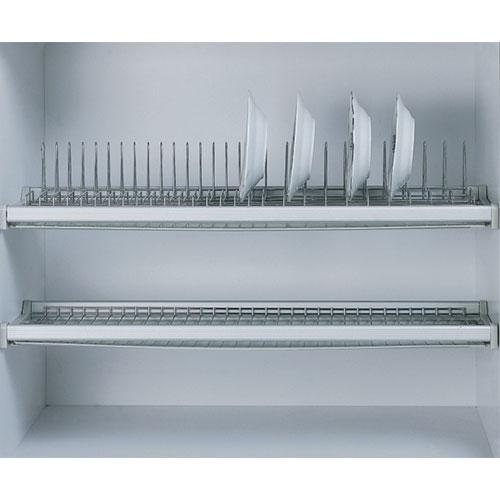 Giá để bát 2 tầng có khay Eurokit GK 012C
