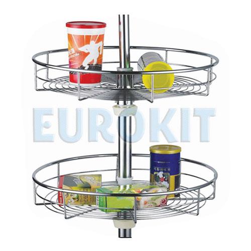 Mâm xoay tròn để xoong nồi góc tủ Eurokit GK012H