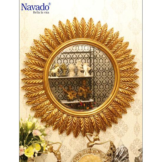 Gương nghệ thuật hoa cúc Navado Gaea