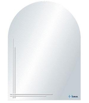 Gương phòng tắm Hobig HB3-002 (45x60)