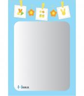 Gương phòng tắm Hobig tráng bạc HB1-729/ HB2-729