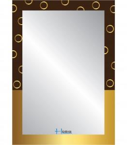Gương phòng tắm Hobig tráng bạc HB1-748