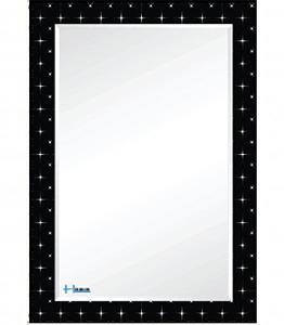 Gương phòng tắm Hobig tráng bạc HB1-757