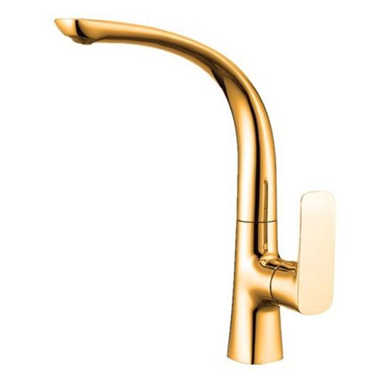 Vòi rửa bát mạ vàng HM-1235G