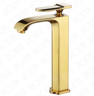 Vòi chậu rửa mặt mạ vàng Yadanli HM-2015G