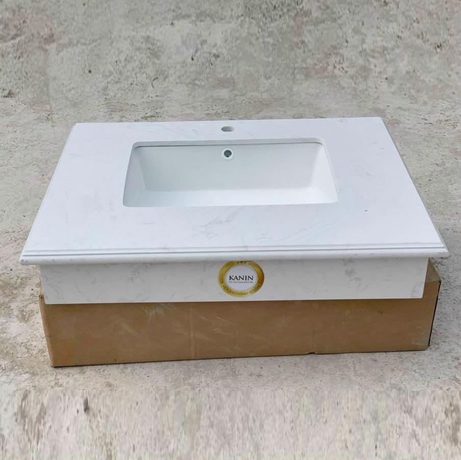 Mặt bàn đá chậu rửa lavabo HM-7051-1