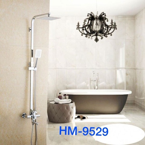Cây sen tắm nóng lạnh vuông HM-9529