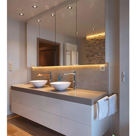 Tủ chậu lavabo may đo nhựa Picomat HMT-116