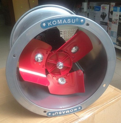 Quạt thông gió công nghiệp ống tròn Komasu KM35T