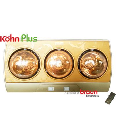 Đèn sưởi nhà tắm Braun Kohn KP03GPlus