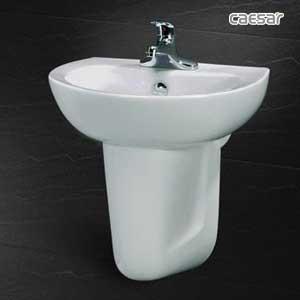 Chậu rửa lavabo Caesar L2150+P2441