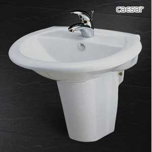 Chậu rửa lavabo Caesar L2360 + P2439