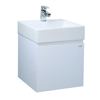 Chậu lavabo và tủ treo Caesar LF5255-EH154V
