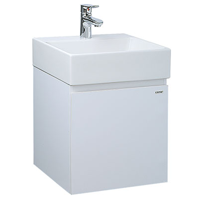 Chậu lavabo và tủ treo Caesar LF5257-EH155V