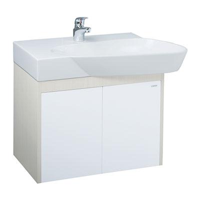 Chậu lavabo và tủ treo Caesar LF5364-EH065V