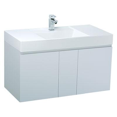 Chậu lavabo và tủ treo Caesar LF5386-EH0100V