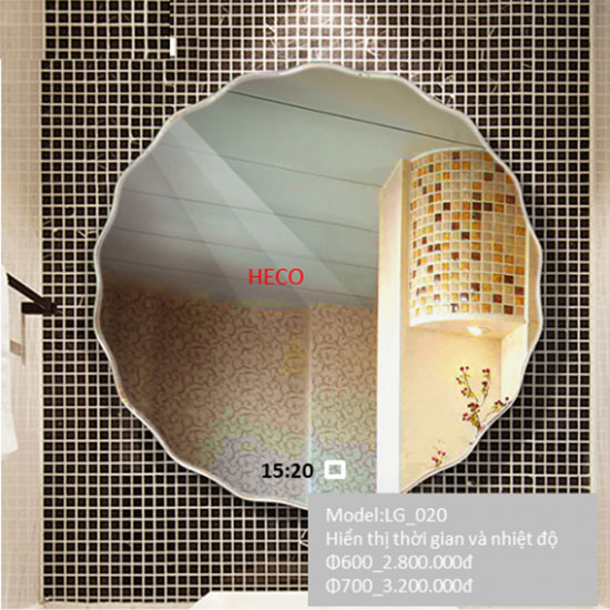 Gương đèn led Heco LG-020