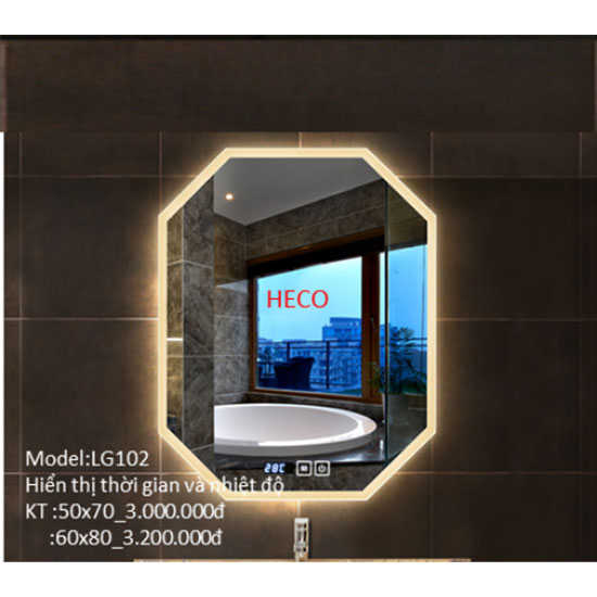 Gương đèn led Heco LG-102