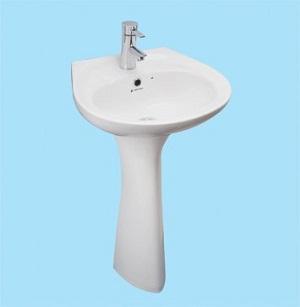 Chậu rửa Lavabo Thiên Thanh LT04L1T/PDY100T