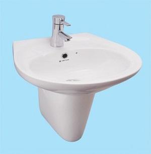Chậu rửa Lavabo Thiên Thanh LT04L1T/PT0400T
