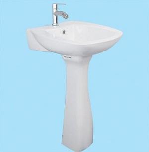Chậu rửa Lavabo Thiên Thanh LT65L1T/PD0100T