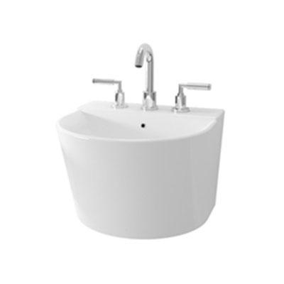 Chậu rửa lavabo TOTO LW898JW-F-W