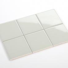 Gạch thẻ ốp tường màu xám bóng phẳng 100x100 M1102B
