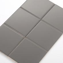 Gạch thẻ ốp tường màu xám đậm mờ phẳng 100x100 M1103Y