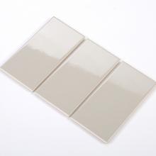 Gạch thẻ ốp tường màu xám nhạt bóng phẳng 100x200 M1202
