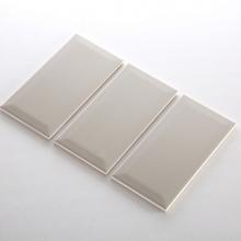 Gạch thẻ ốp tường màu xám nhạt mờ phẳng 100x200 M1202Y