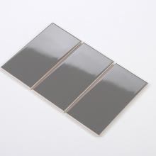 Gạch thẻ ốp tường màu xám đậm bóng phẳng 100x200 M1203