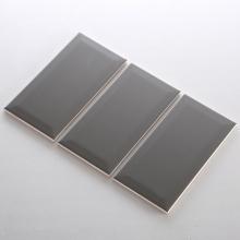 Gạch thẻ ốp tường màu xám đậm mờ vát 100x200 M1203XY