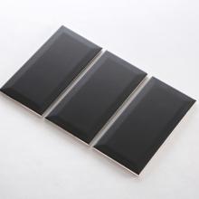 Gạch thẻ ốp tường màu đen mờ vát 100x200 M1207XY