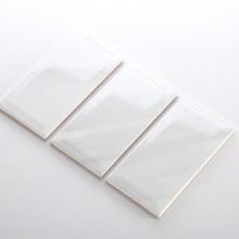 Gạch thẻ ốp tường inkjet trắng nâu bóng vát 100x200 M1220XK