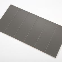 Gạch thẻ ốp tường màu xám đậm mờ phẳng 100x300 M1303Y