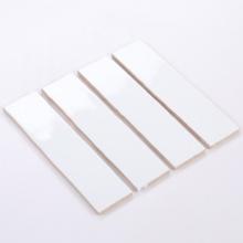 Gạch thẻ ốp tường trắng bóng lượn sóng 75x300 M75300L