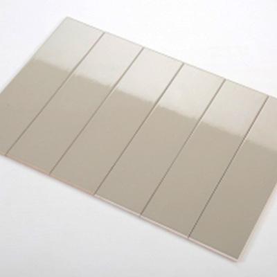 Gạch thẻ ốp tường xám nhạt mờ phẳng 75x300 M75302ZY