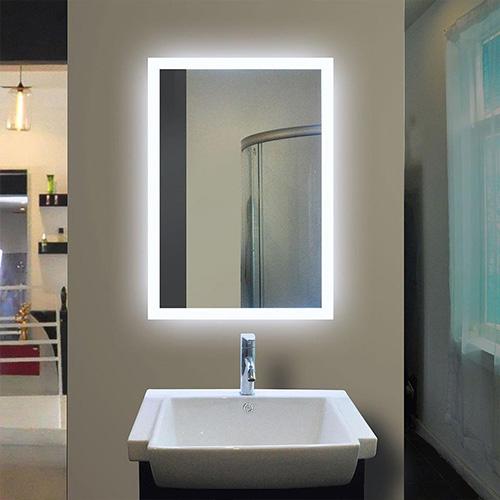 Gương led chữ nhật có cảm ứng MIKEN MKG-NT0025
