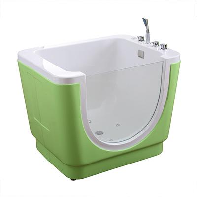 Bồn tắm trẻ em massage màu xanh lá MIKEN T-5210G