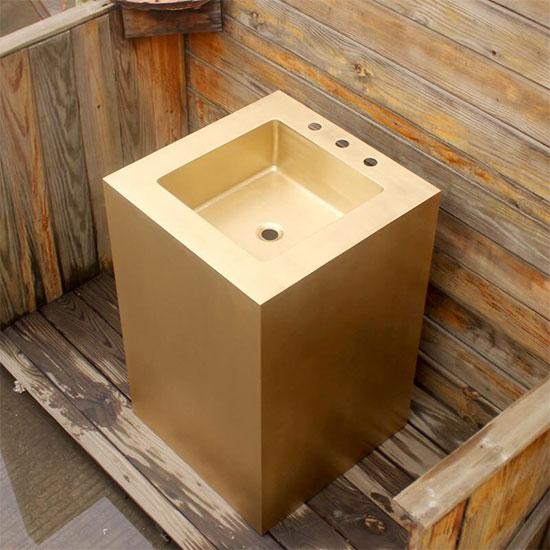Chậu lavabo bằng đồng MKC-D130