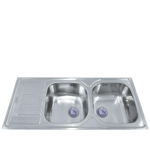 Chậu rửa bát Mirolin MT1200-2B1D/L