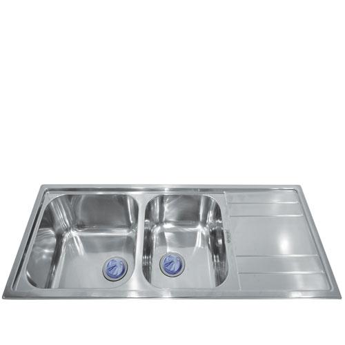 Chậu rửa bát Mirolin MT1200-2B1D/R