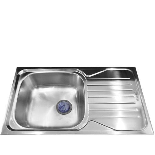 Chậu rửa bát Mirolin MT820-1B1D/R